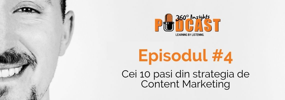 Cei 10 pasi din strategia de content marketing