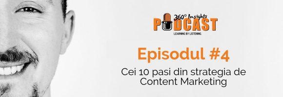 Cei 10 pasi din strategia de content marketing