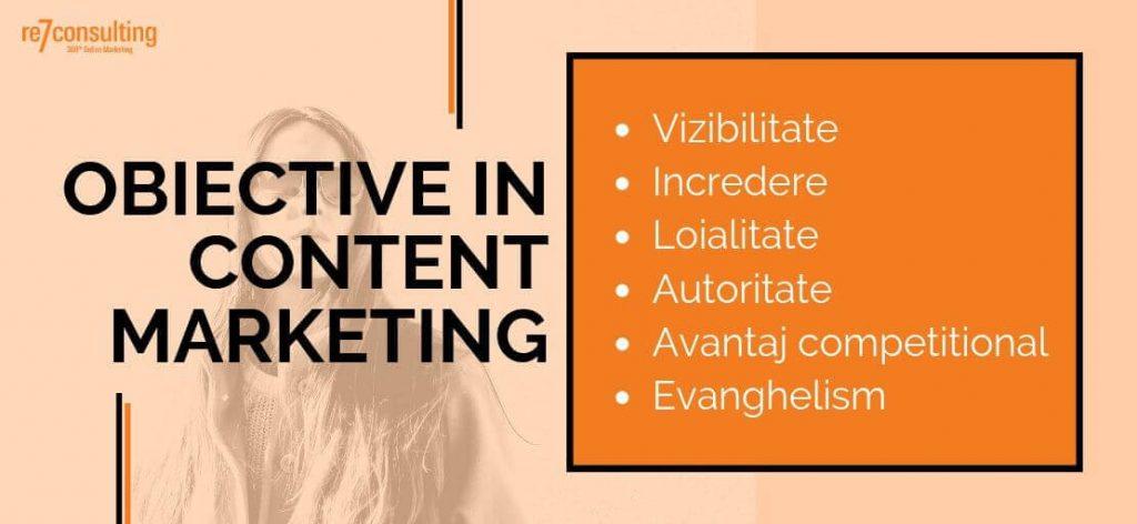 ce inseamna marketing prin continut - obiective
